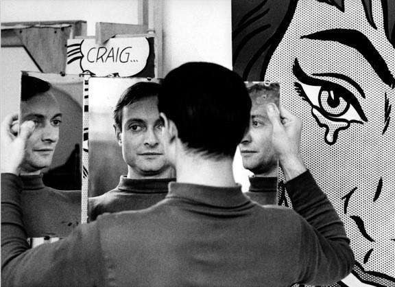 Roy Lichtenstein in Mirror, 1964