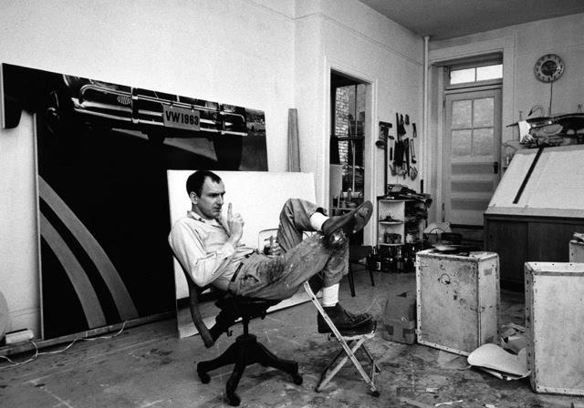 Tom Wesselmann in Studio, 1964