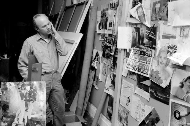 James Rosenquist in Studio, 1964