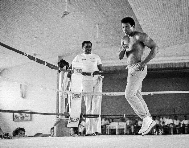 Ali Dancing, Zaire, 1974