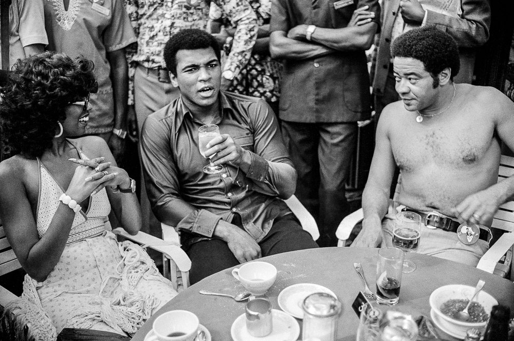 Ali, June Pointer, Bill Withers, 1974