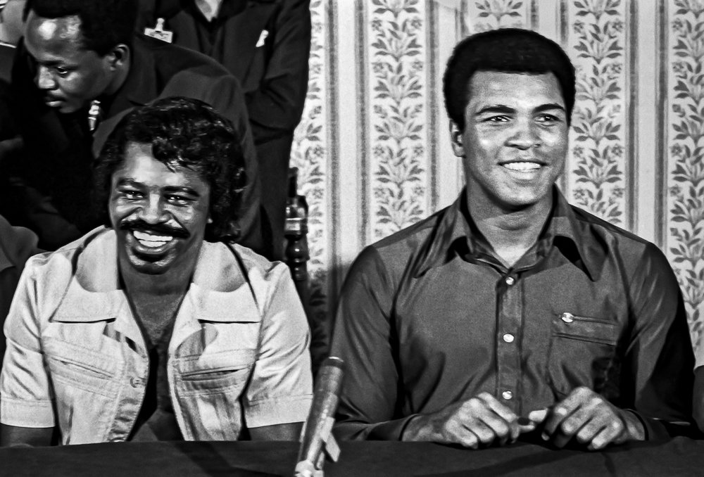 Ali and James Brown, 1974