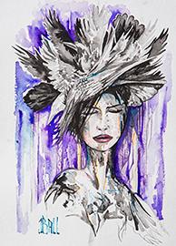 Bird Hat - SOLD