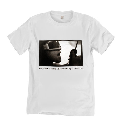 99665abc You Think It's Like This But Really It's Like This T-shirt — Mirah