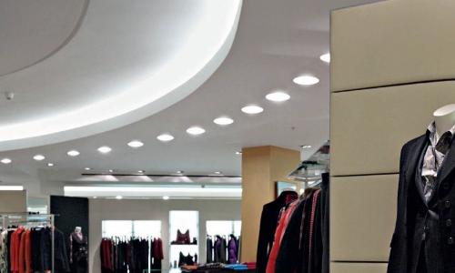 Recessed Retail Lighting - Shop lighting_NZ