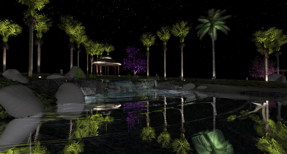 Landscape & Garden Lighting Design NZ