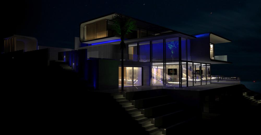 Lighting design nz lighting solutions for Residential exterior lighting design