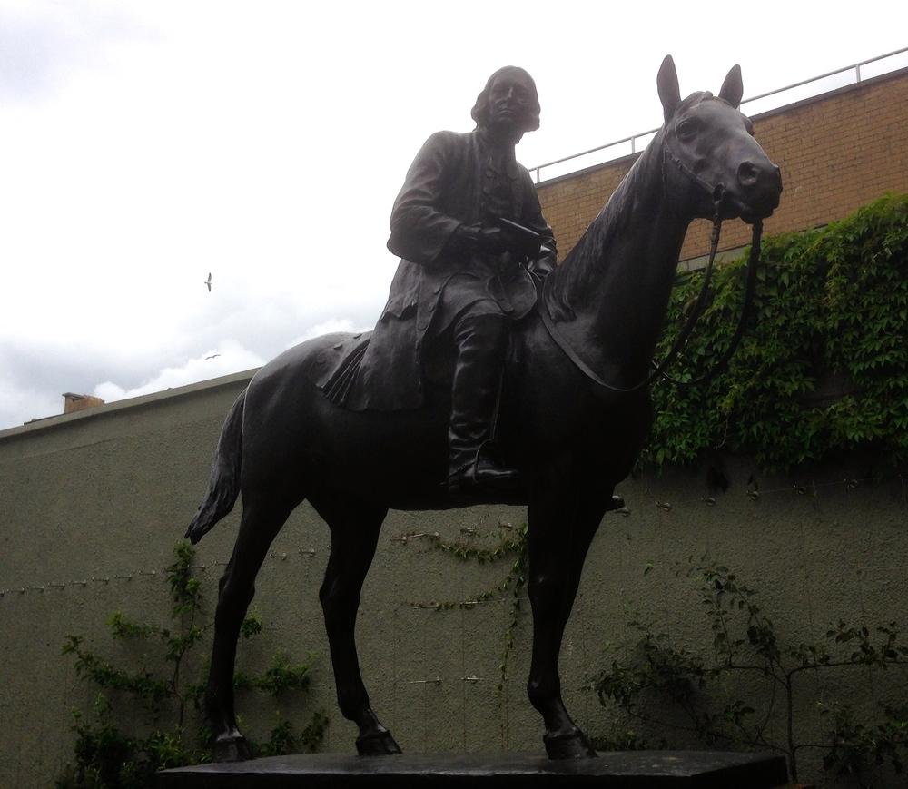 Statue of John Wesley .JPG