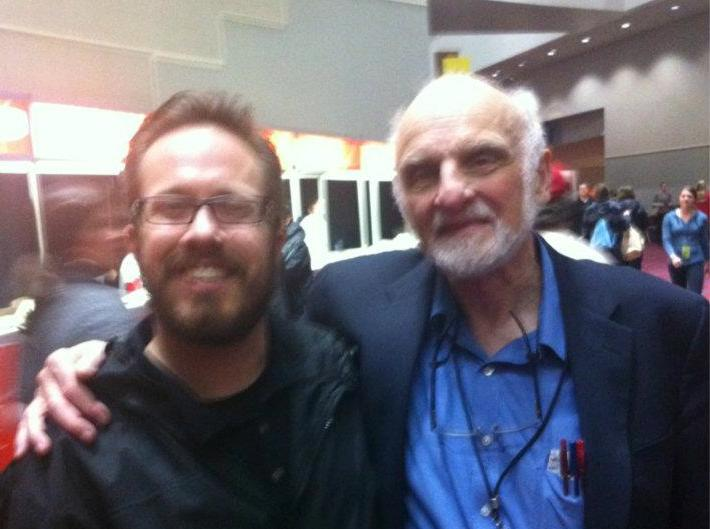 Picture taken with Brueggemann in Portland, OR, at The Justice Conference in 2012. Yes, this is the equivalent of name dropping.
