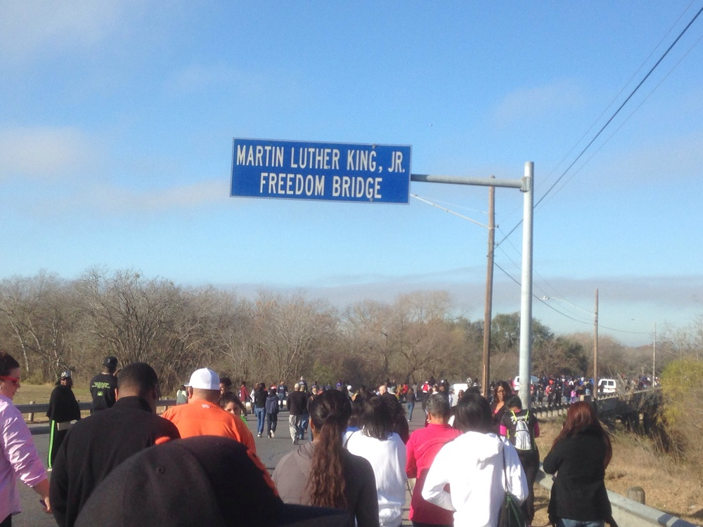 Beginning of MLK, Jr. March