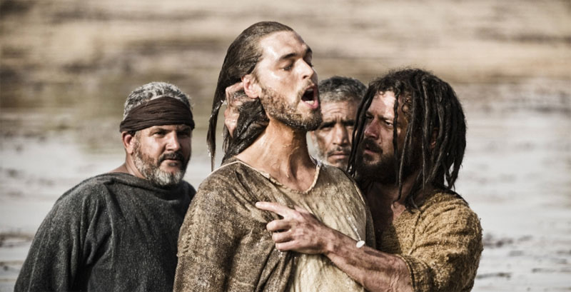 The History Channel's John the Baptist with Jesus