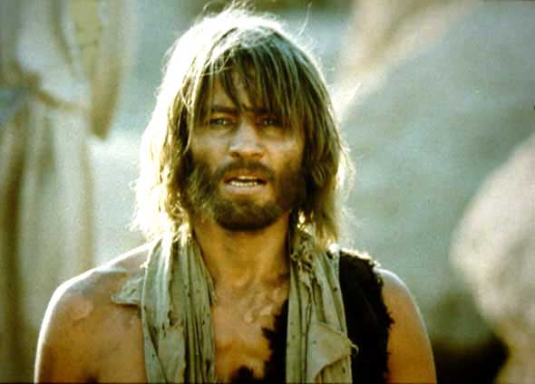 John the Baptist in  Jesus of Nazareth  (1977). Source: excerptsofinri.com