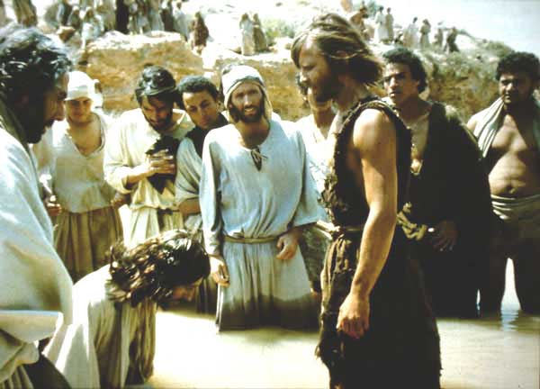 John the Baptist and Jesus in   Jesus of Nazareth   (1977). Source:   excerptsofinri.com