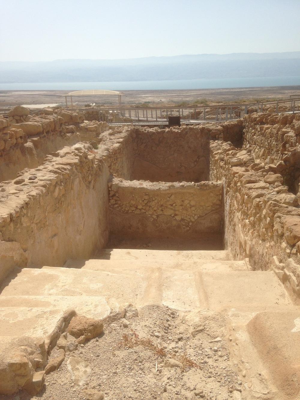 A mikveh at Qumran