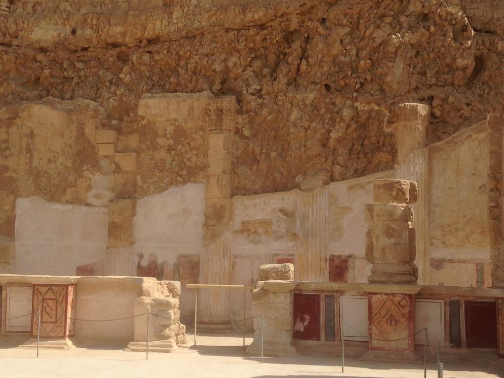 North palace at Masada.
