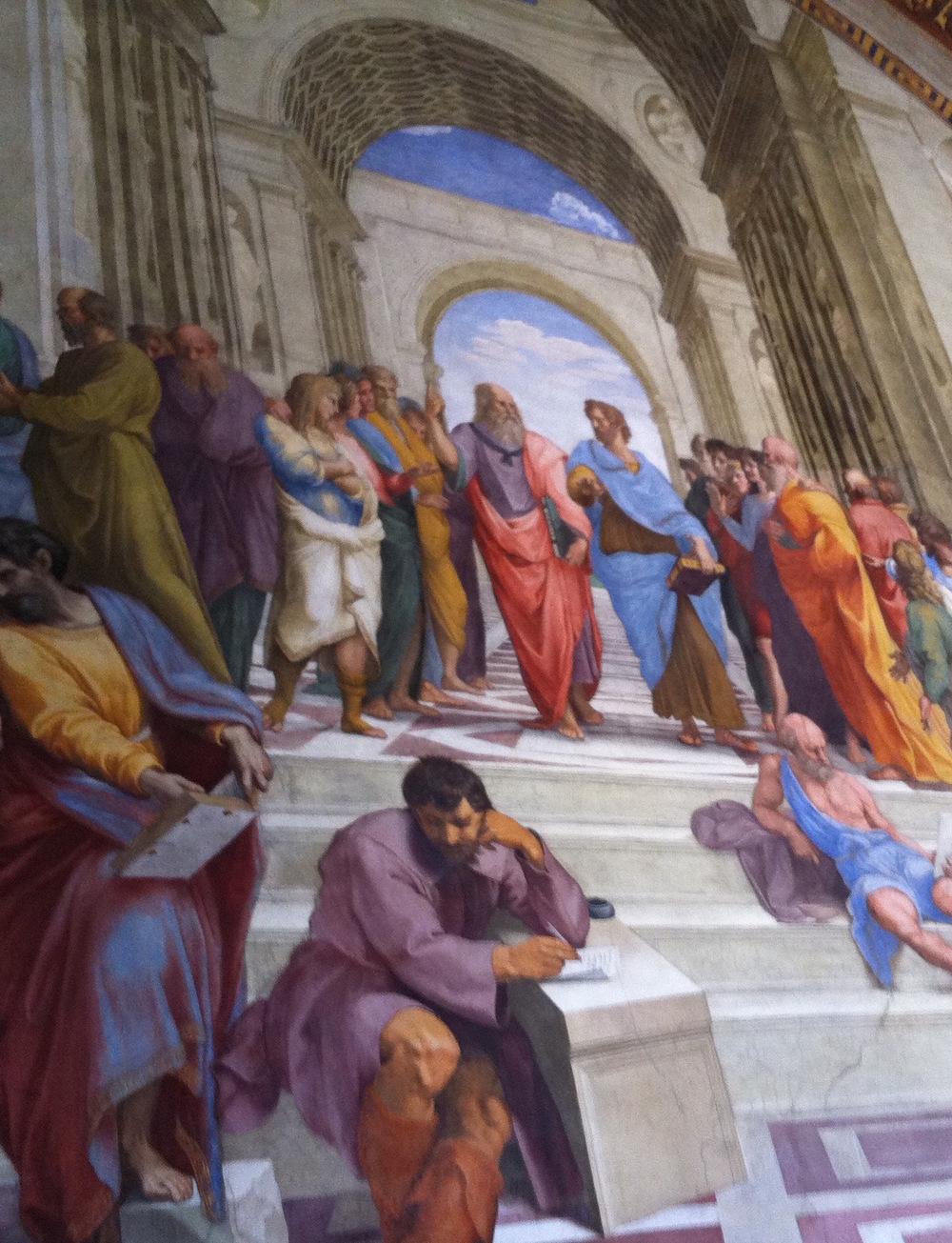 Raphael's Scula di Atene