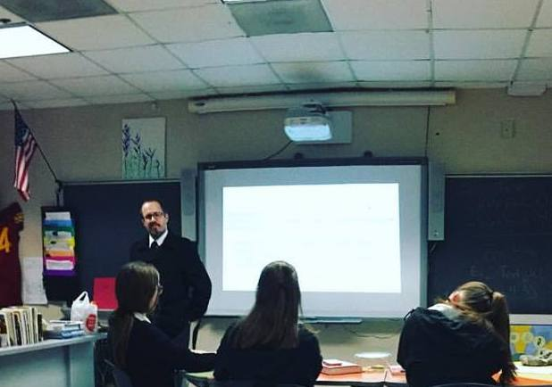 Facilitating discussion on the tension between grace/forgiveness and justice/moral reformation in the New Testament at TMI-The Episcopal School of Texas (12/01/2016).