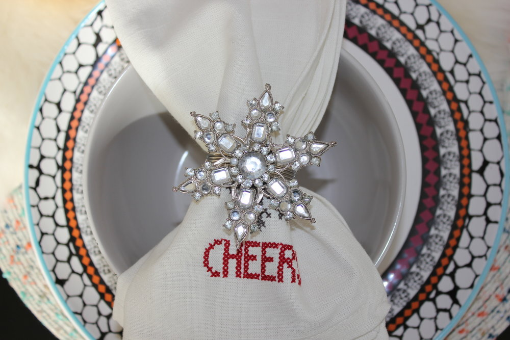 Fabric napkins and decorative napkin rings can be the crowning jewel of your table setting.