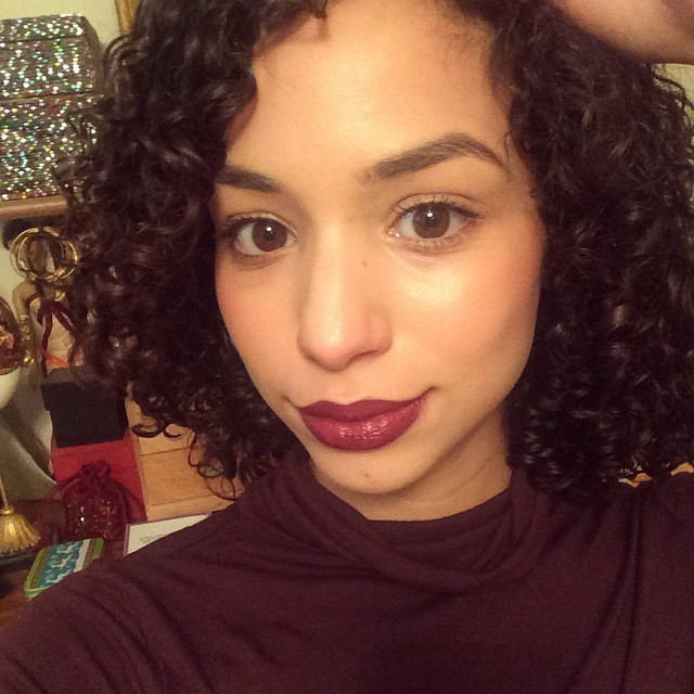 "Our own @zamnsam uses @camillerosenaturals' ""Jansyn's Moisture Max Conditioner"" and their ""Twisting Butter"" to keep her #curls in tip top shape. #thirteenthandhudson #bblogger #curlcrush #camillerosenaturals What #curlyhair products do you use?"
