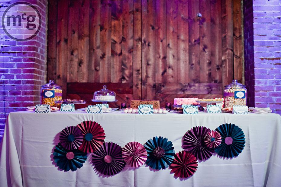 Edison's Dallas Wedding Dessert Buffet