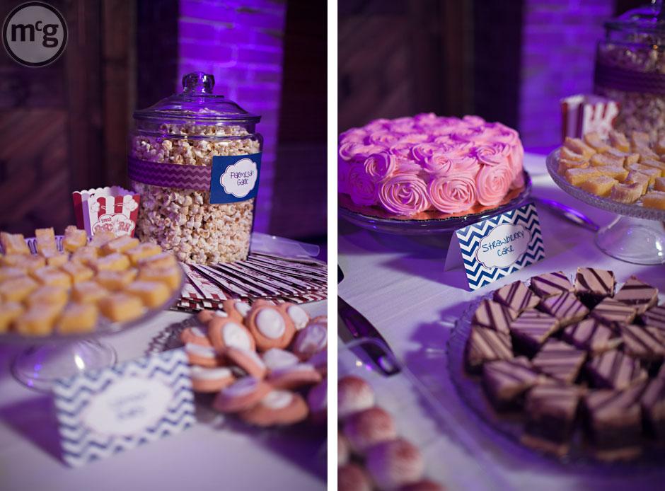 Popcorn & Dessert Buffet