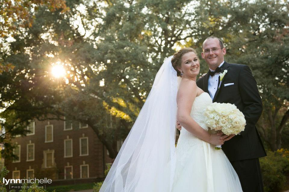 Bride & Groom SMU Campus