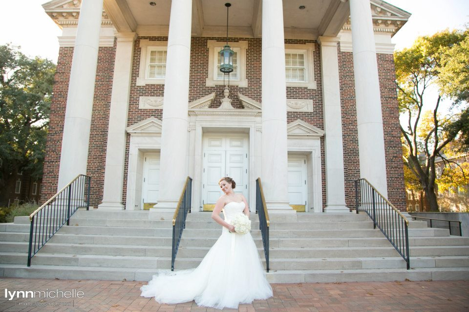 Bridal Portrait SMU Perkins Chapel