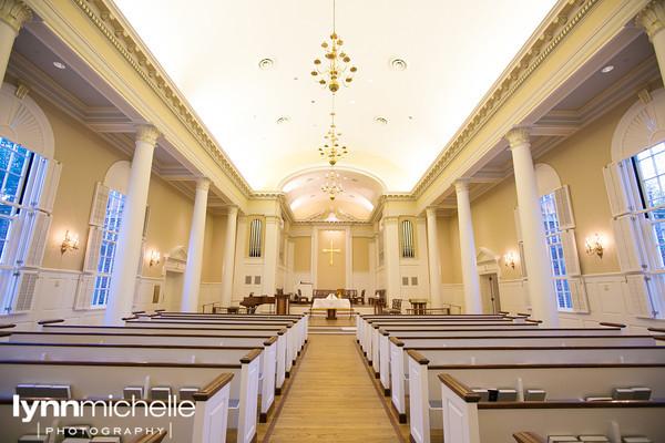 SMU Perkins Chapel Aisle