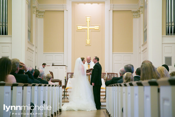 SMU Perkins Chapel Wedding Ceremony