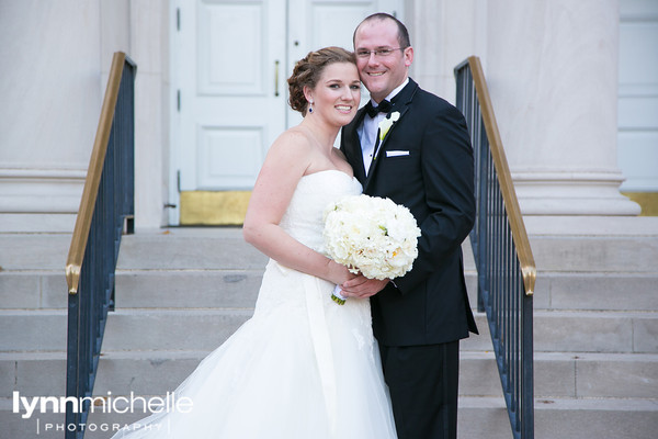 Bride & Groom SMU Perkins Chapel