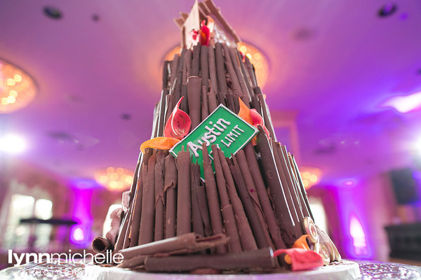 Texas A&M Bonfire Wedding Groom's Cake