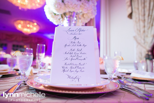 Melrose Hotel Wedding Menu