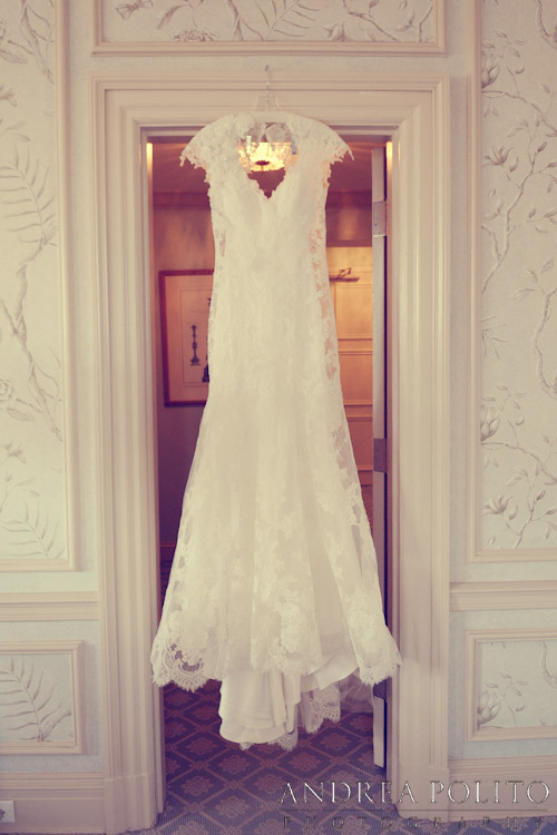 Stoneleigh Hotel Wedding Dress Hanging