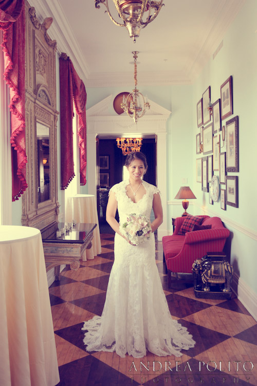 Stoneleigh Hotel Bridal Portrait