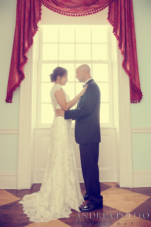Stoneleigh Hotel Bride & Groom First Look