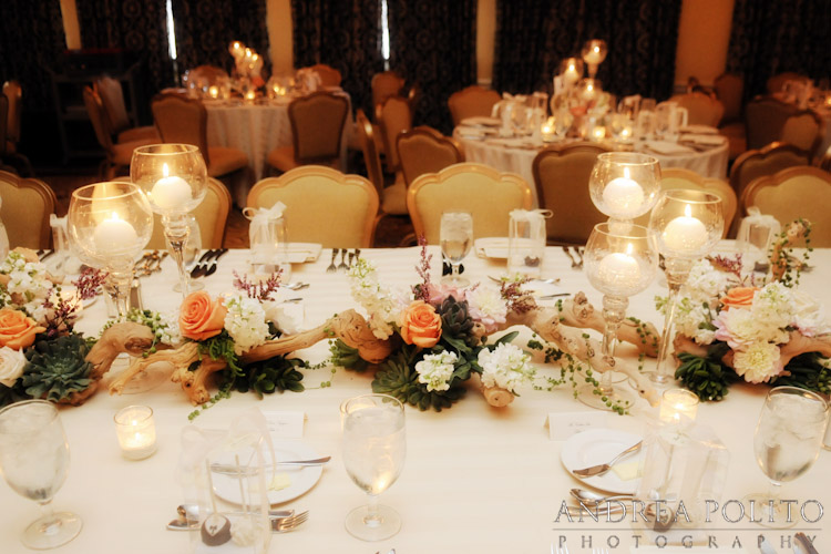 Stoneleigh Hotel Wedding Head Table