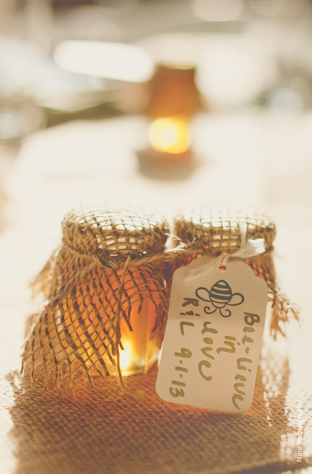Winnie the Pooh Theme Wedding Honey Favors