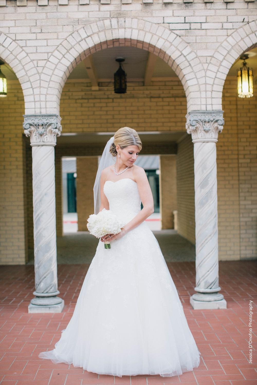 Holy Trinity Catholic Church Bridal Portrait