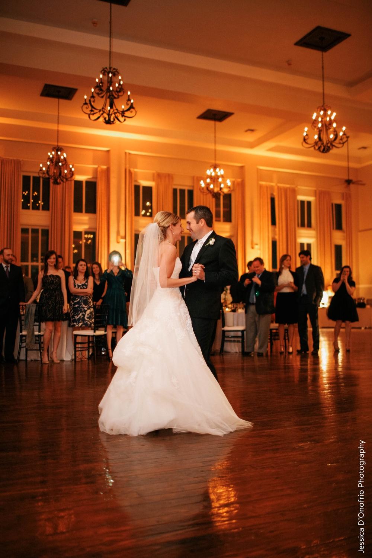Bride & Groom Wedding First Dance Room on Main