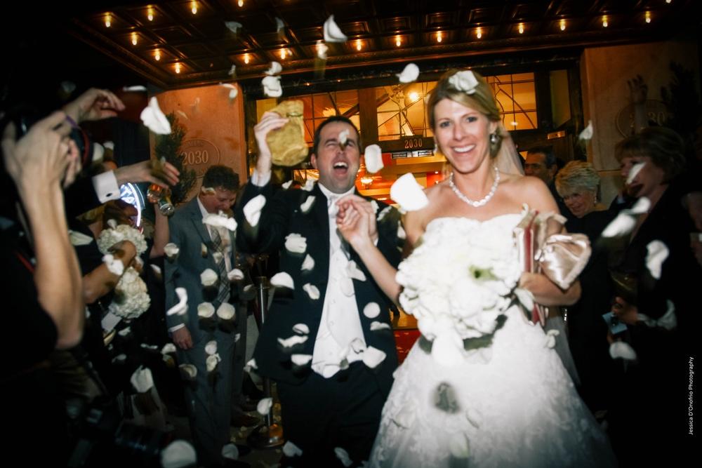 Rose Petal Grand Wedding Exit