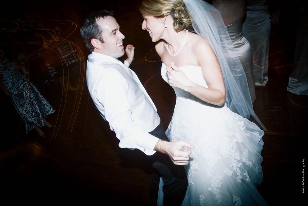 Bride & Groom Dancing & Singing