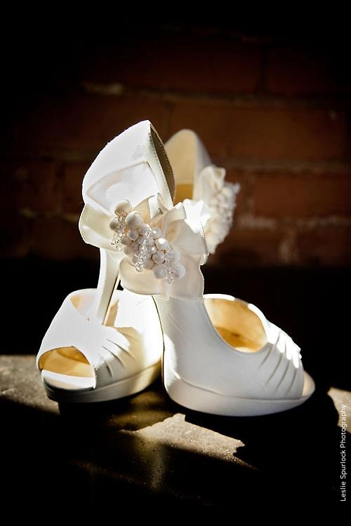 Wedding Bride's Shoes