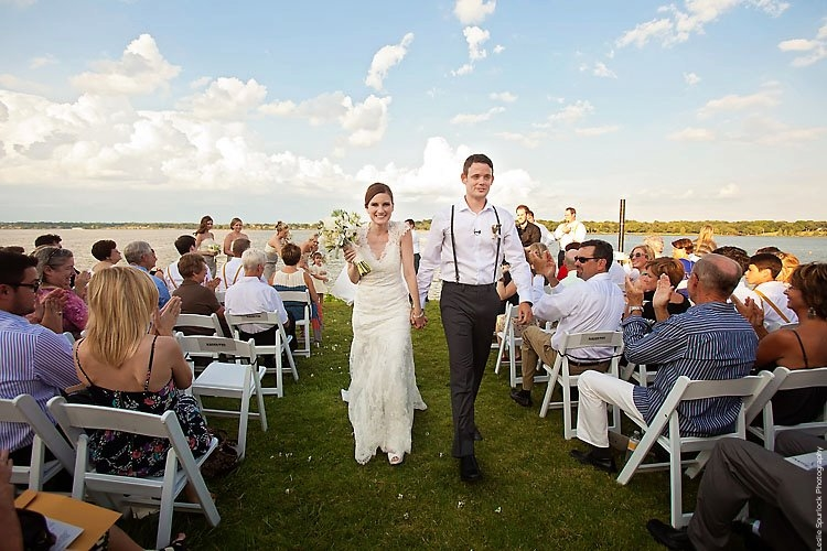 White Rock Lake Wedding Recessional