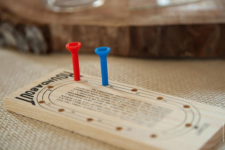 Wedding Wooden Peg Board Game