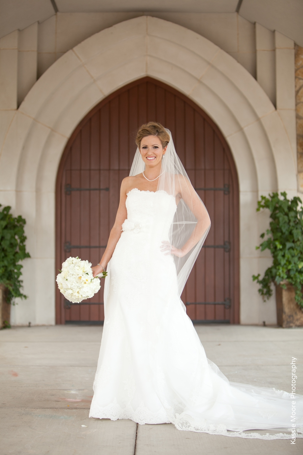 Bridal Portrait Fort Worth Presbyterian Church