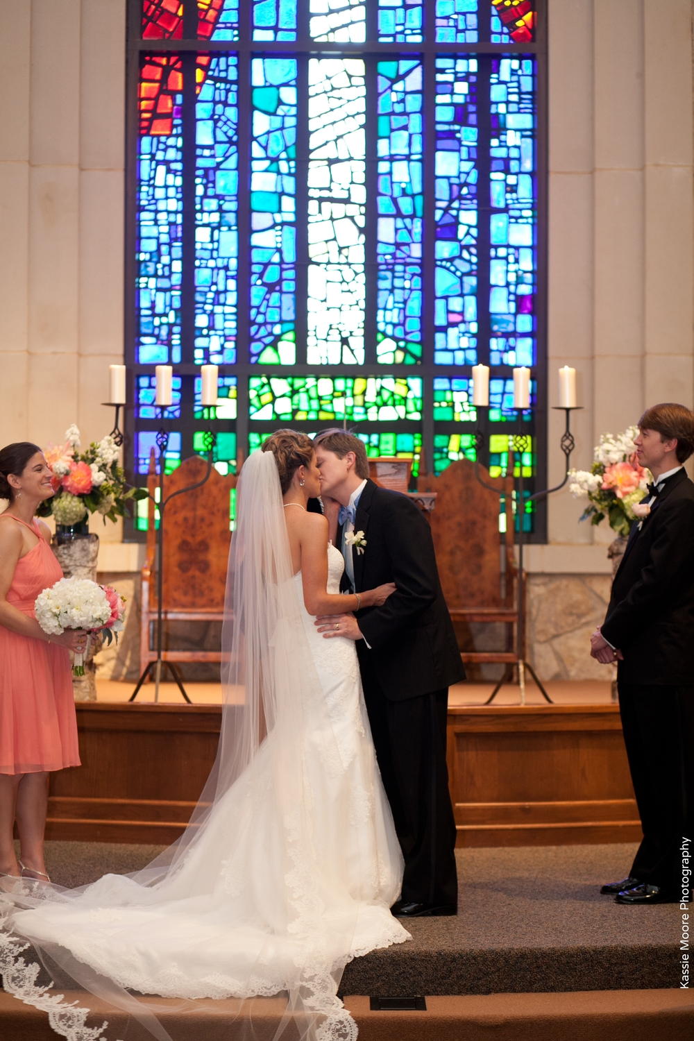 Fort Worth Presbyterian Wedding Ceremony