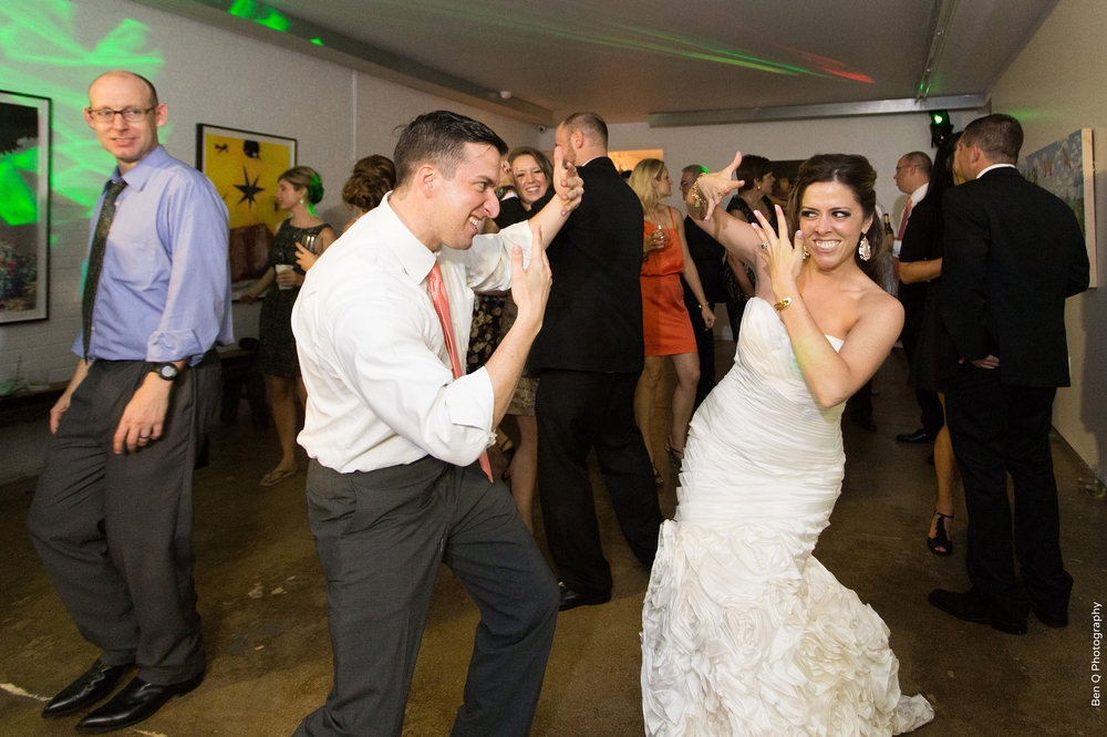 Bride & Groom Dancing