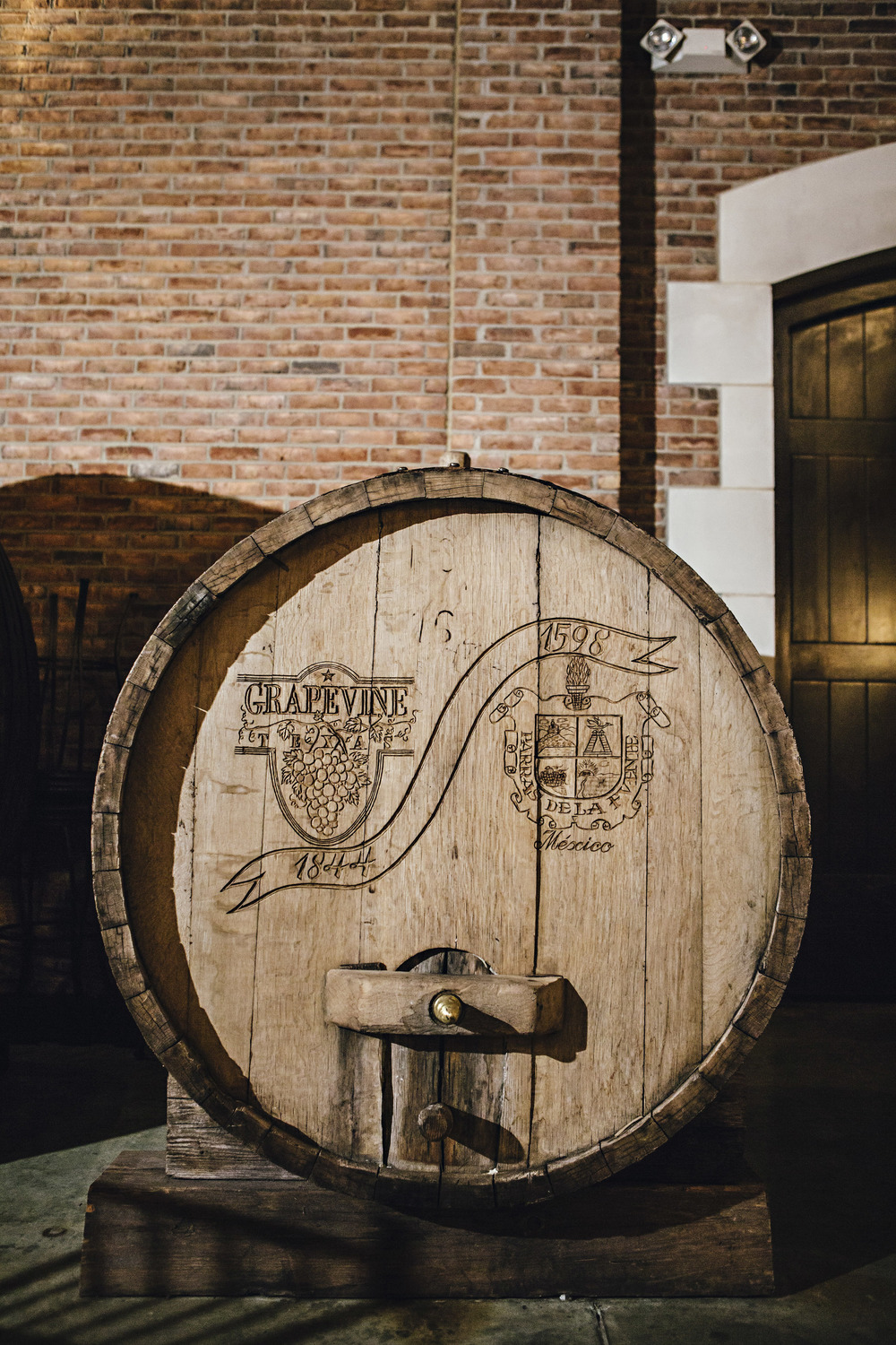 Delaney Vineyards Wine Barrel