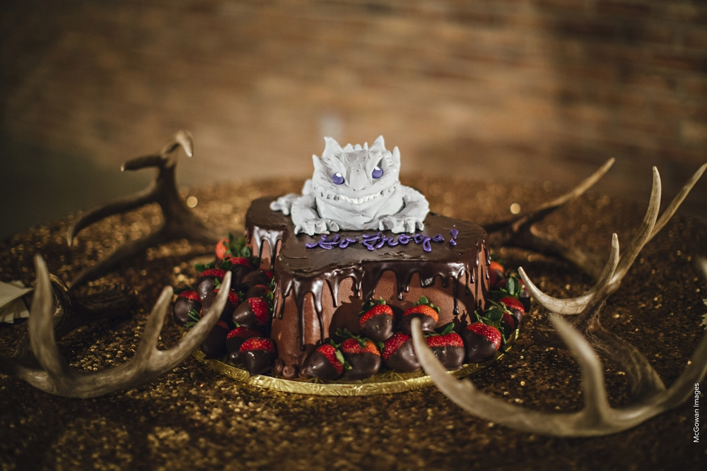 TCU Horned Frog Groom's Cake by Ruth Robbins