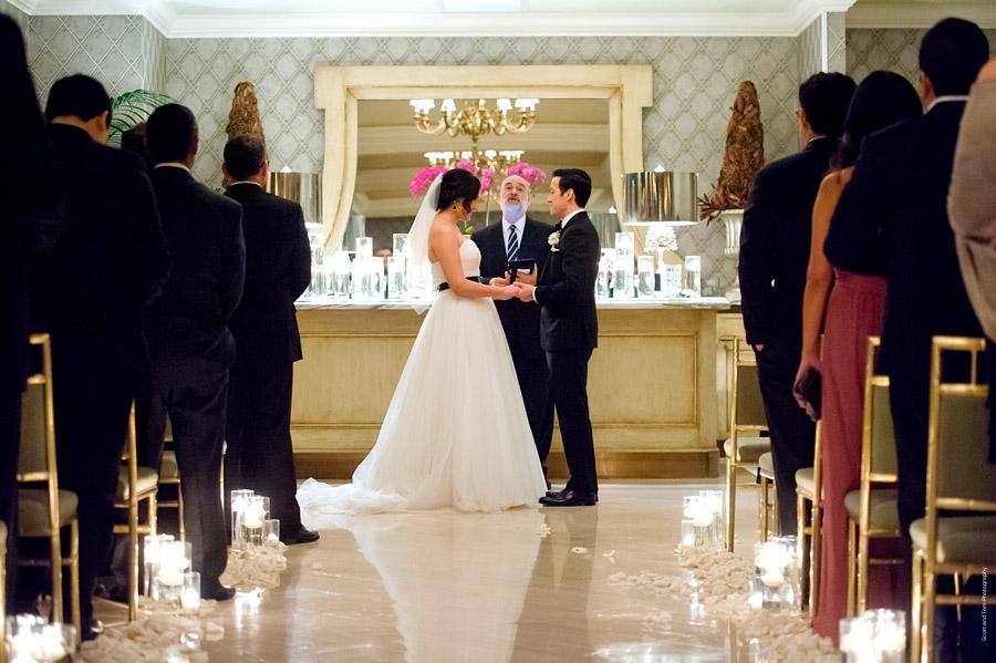 Mansion on Turtle Creek Wedding Ceremony NYE